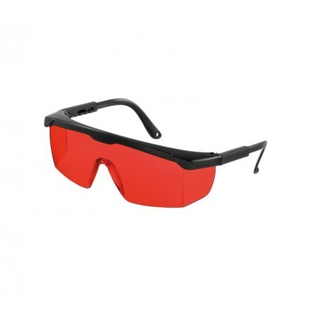 Vulcan Laser Intensive Glasses red